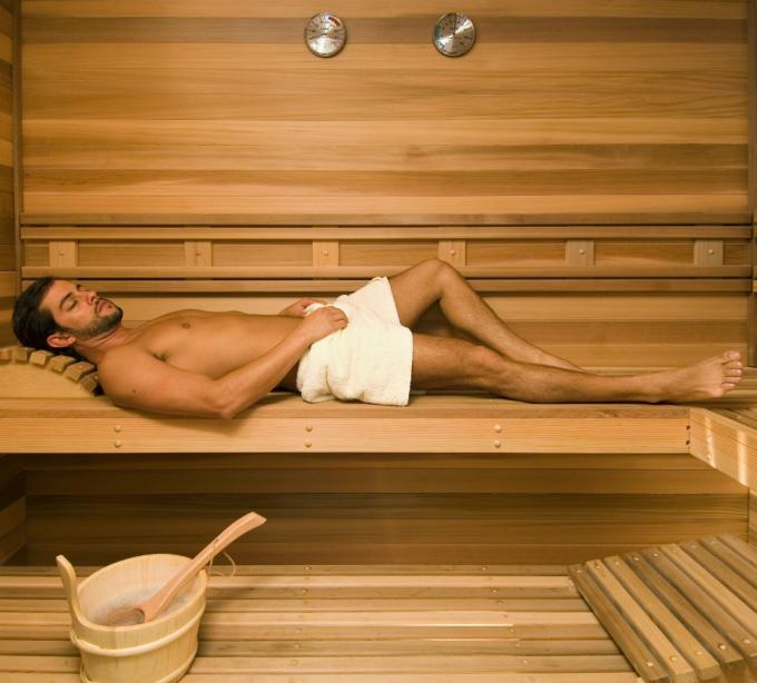 Luxury-sauna