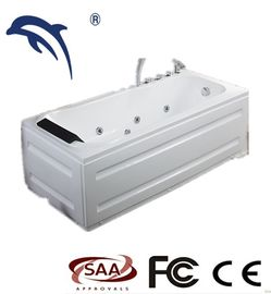 Good Quality Hot Massage Tub & White Color 1 Person Whirlpool Tub Resin / Fiberglass Material For Adult on sale