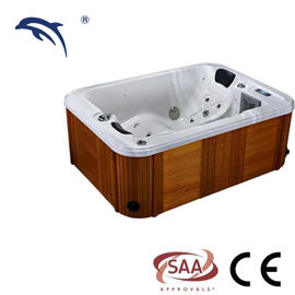 Acrylic Hot Massage Tub Balboa System , Outdoor Hot Tub Whirlpool For Garden