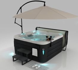 Acrylic Hot Massage Tub Balboa System , Hot Tub Whirlpool Outdoor Massage Spa