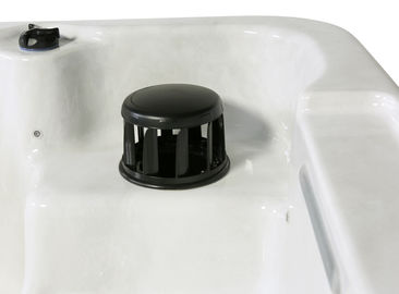 1300 L Hydro Massage Spa Hot Tub Center Drain Location With Freestanding Installation