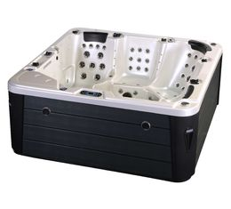 Corner Location Hydrotherapy Hot Tub Spa 5 Person Capacity Ponfit With Bluetooth Speakers