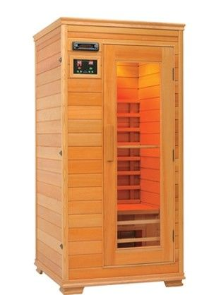Dry Steam Portable Sauna Room , Solid Wood Infrared Sauna Room 3 Years Warranty