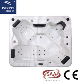 China Outdoor / Indoor Spa Whirlpool Hot Tub Portable Massage Bathtub Hydro Spa Hot Tub factory