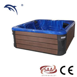 European Standard Massage Spa Tub Acrylic Material Optional Color Jet Hot Tub