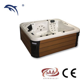 Ponfit freestanding Massage Spa Tub , Hot Tub Spa For Corner Drain Location