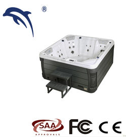China Optional Color Outdoor Garden Spa Tub With Video Whirlpool LED factory