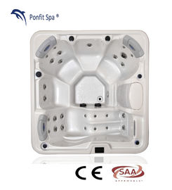 China Freestanding Hot Massage Tub 5 People US Balboa Control System factory