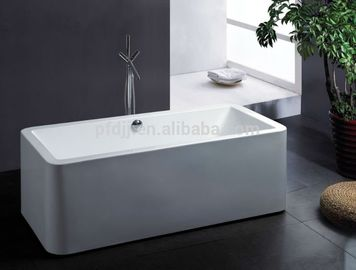 China Body Soaking Indoor Spa Tub 150*75*65cm 1 Person Hot Tub For Adult factory