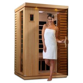 China Carbon Heater Portable Sauna Room Transom Windows With 1 People Capacity factory