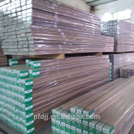 Canadian Western Wood Sawn Timber Natural Color With Customized Size